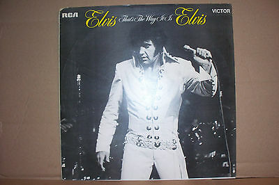 Elvis Presley,  Thats The Way It Is,  Rca Records 1971  Mint Unplayed