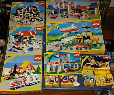 HUGE lot 1980's Lego boxes & instructions, 6392, 6394, 6386, 6378, 6388, & MORE!