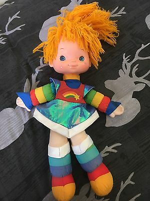 Vintage Rainbow Brite Doll 1983 20 Inches Large