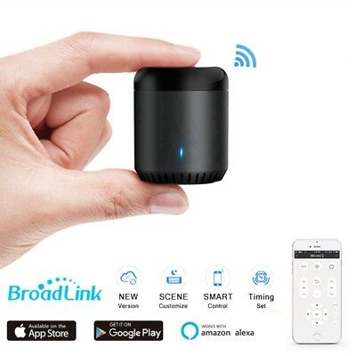 Upgrade Broadlink RM Mini 3 Home Wifi IR Smart Remote Controller Black Bean