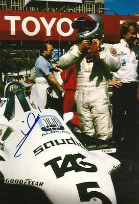 Mario Andretti FORMULA ONE autograph, In-Person signed photograph
