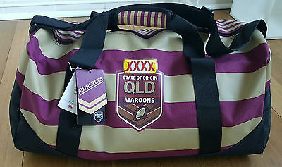 Queensland Maroons Origin Duffle Bag (brand new with tags BNWT) CCC