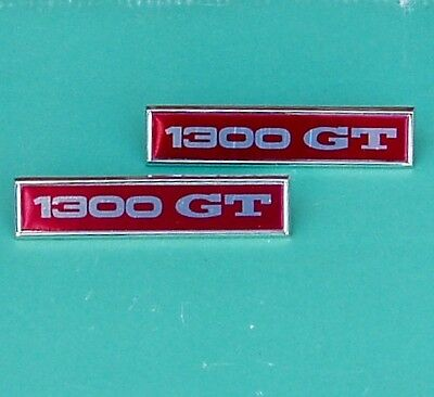 "Ford Escort Mk 1 ""1300Gt "" Badges, Pair.     Post Free Uk !"