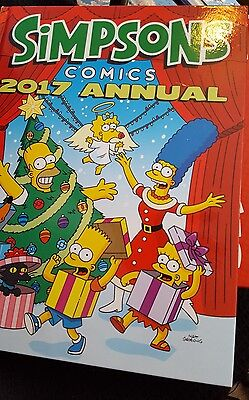The Simpsons - Annual 2017 (Annuals 2017) By Matt Groening  Free postage