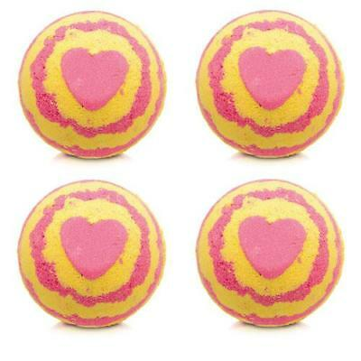 Bomb Cosmetics Rhubarb and Custard Bath Blaster x 4