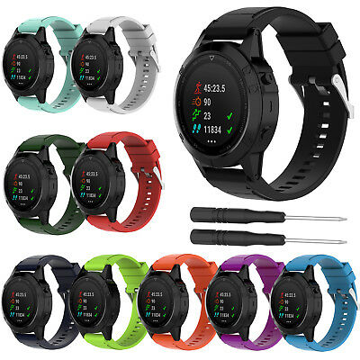 26MM Quickfit Silicone Watch Band Replacement Strap Bracelet For Garmin Fenix 5X