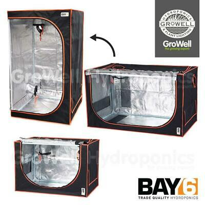 2-in-1 BAY6 SMALL CUTTING/SEED/MOTHER/PROPAGATION INDOOR HYDROPONIC GROWING TENT