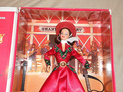 1997 COLLECTORS EDITION GRAND OLD OPRY Barbie NRFB NEW No # 17782