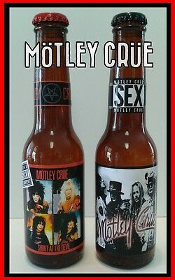 Motley Crue - Shout at the Devil - Final Tour  ( 2 pack - 12 oz beer bottles)