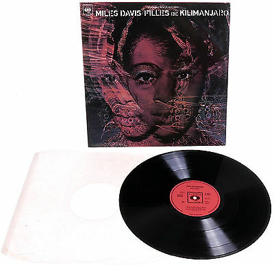 MILES DAVIS Filles De Kilimanjaro 1968 UK 1st CBS MONO PRESS A1//B1 - NEAR MINT