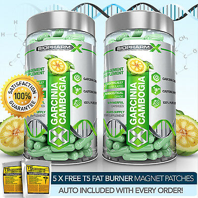 X2 Strongest Legal Garcinia Cambogia - Slimming / Diet & Fat Burner Weight Pill