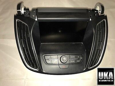 Ford C-Max 2015 2016 Cd Radio Display Screen Control Panel And Cd Player Box