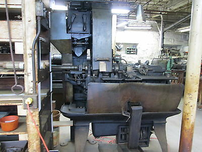 Brown & Sharpe 6 Station Turret Vintage 1920 220V 3Ph Screw Machine Runs Great!