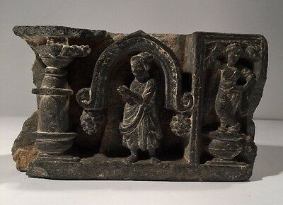 Ancient Historical Gandhara Temple Frieze - 2nd / 3rd Century (With Provenance)