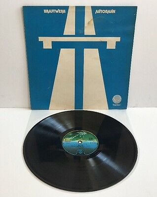 KRAFTWERK AUTOBAHN VINYL LP VERTIGO UK 1974 PRESS EMBOSSED Pro Clean & Play Test