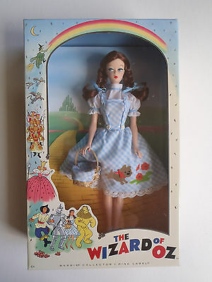 Barbie Collector Wizard of Oz Dorothy Vintage Doll, 2010 Nostalgic Pink Label