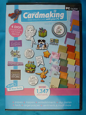 PC CD-ROM: Complete Cardmaking Magazine Issue 50: Doodle Pantry,CraftsUPrint etc