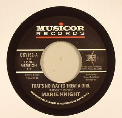 "KNIGHT, Marie - That's No Way To Treat A Girl - Vinyl (7"")"