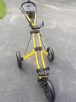 Sun Mountain Speed Golf Cart V1, GREAT CONDITION, Cool color, Foam Tires