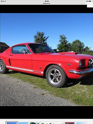 1966 Ford Mustang Fastback four speed V8