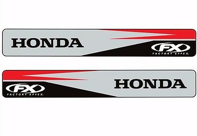 Factory Effex HONDA Swingarm Motocross Graphic Logo Sticker Adhesive Decal 2 Pcs