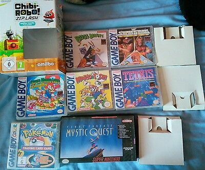 video game paperwork boxes manuals etc Nintendo Sega Atari xbox books ds gameboy