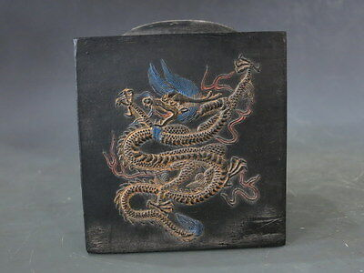 Excellent Carved Chinese Ink character/calligraphy tool