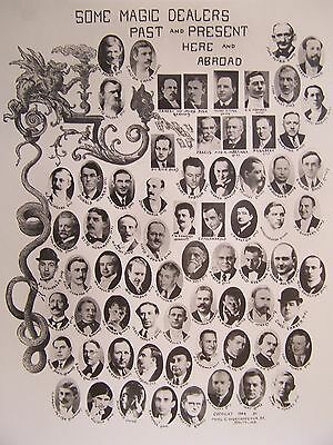 SOME MAGIC DEALERS PAST AND PRESENT HERE AND ABROAD Thomas Chew Worthington 1946