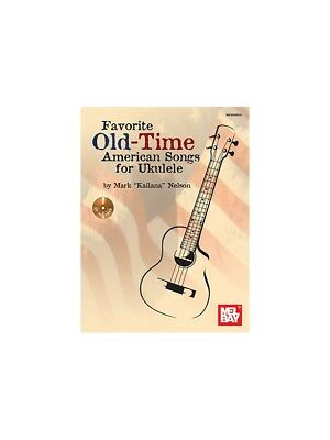 Favorite Old-Time American Songs For Ukulele: Book And CD Notenbuch, CD