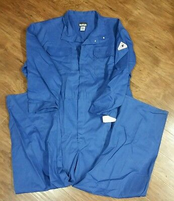 Bulwark Excel FR flame resistant protective coveralls overalls CLB6RB5 54 blue