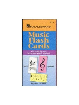 Hal Leonard Student Piano Library: Music Flash Cards Set A Klavier Notenbuch