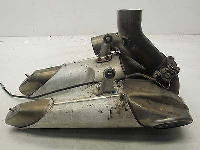 14 15 2014 2015 Ducati Panigale 899 Exhaust Pipe Muffler Silencer Oem Parts #60