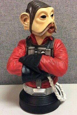 Star Wars Gentle Giant Nien Nunb Mini Bust #419 of 900 W/ COA - Free Delivery