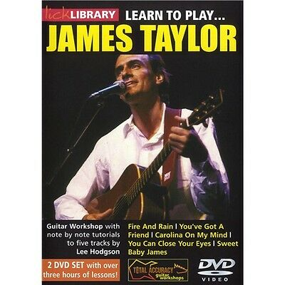 Lick Library: Learn To Play James Taylor Gitarre 2 x DVD (Region 0)