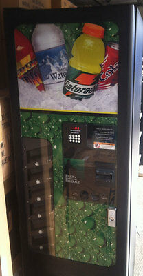 Soda Gatorade Water cold beverage vending machine FSI model 3179