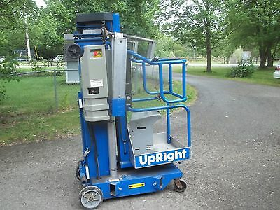 #5) Used Upright UL-25 Manlift - Lived an easy life in a warehouse!