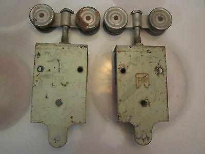 2 R&W barn door roller hinge set loft Soho farm #4  FREE SHIPPING