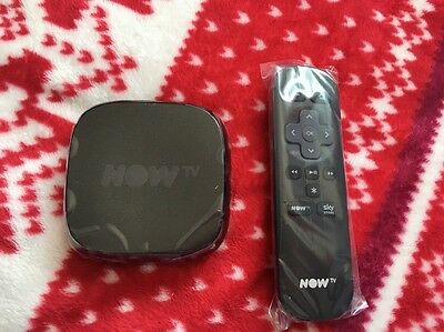 NOW TV Box Digital HD Media Streamer W/ 1 Month Multi Choice Pass