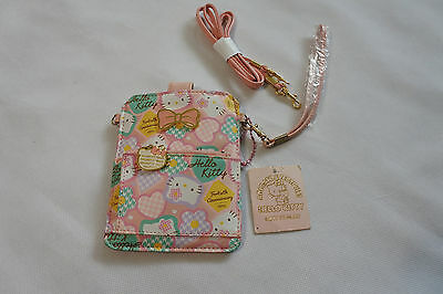 Sanrio Hello Kitty Handy Tasche Elektronik Bag Clutch  Fächer Neu mit Etikett