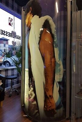 Ergoline Lounge with Changing Room Stand Up Vertical Commercial Sunbed Tanning