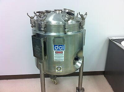Reactor Stainless Steel Jacketed Pressure Vessel Tank Mixer Chemical Reaction