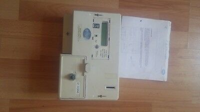 *use* RDL M101 DUAL COIN £1  DIGITAL PREPAYMENT ELECTRIC METER & TIMER