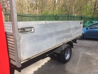 ford transit Drop Side Alloy Tipping Body