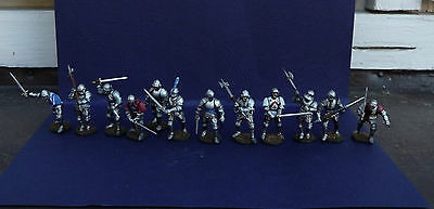 12 x Painted Perry Miniatures 28mm PAINTED Knights 1450-1500