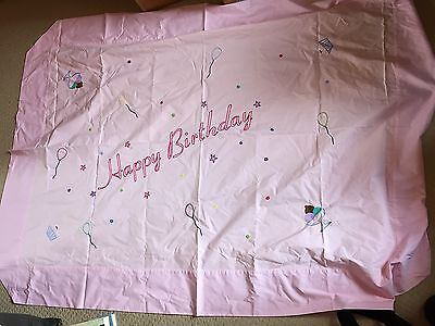 Urchin 100% Cotton Childrens/Baby Play Mat/Sheet/Rug with Happy Birthday Design
