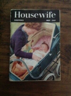 Housewife Magazine May 1947 - Vintage Woman's Magazine - Great