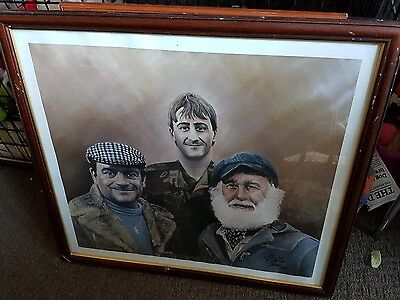 Only Fools and Horses framed print of a painting  Ltd edition 203 of 1500 made