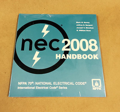 NEC 2008 Handbook CD NFPA 70 National Electrical Code CD-Rom