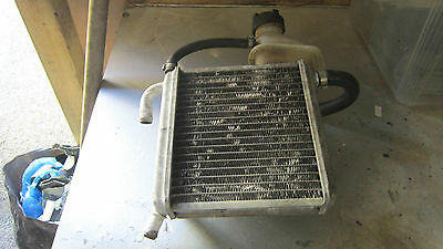 Aprillia Sr 50 Cc Radiator And Bottle Removed From A 2003 Bike