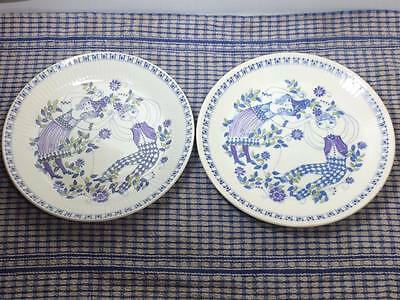 "Figgjo Turi-Design Lotte made in Norway 8"" plates"